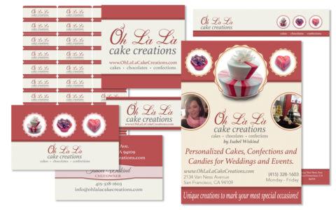 Print Design for Oh Là Là Cake Creations